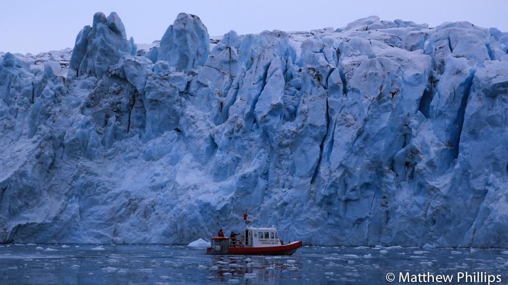 South georgia, Antarctica, Boat Glaciser
