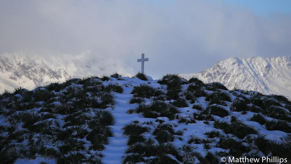 South georgia, Antarctica, Shackleton's Cross