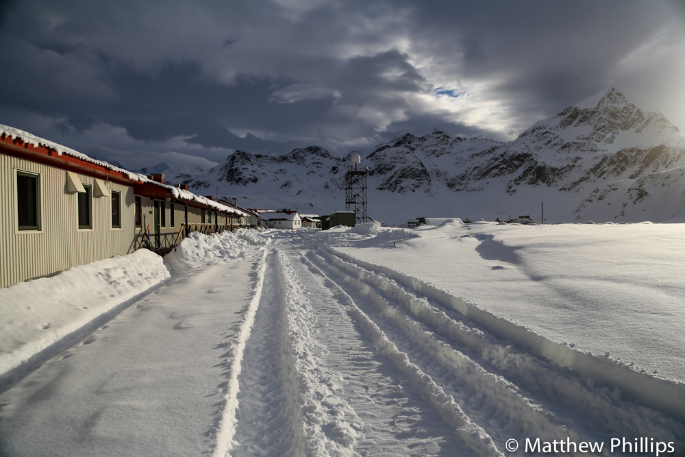 South georgia, Antarctica, skiing, King Edward Point