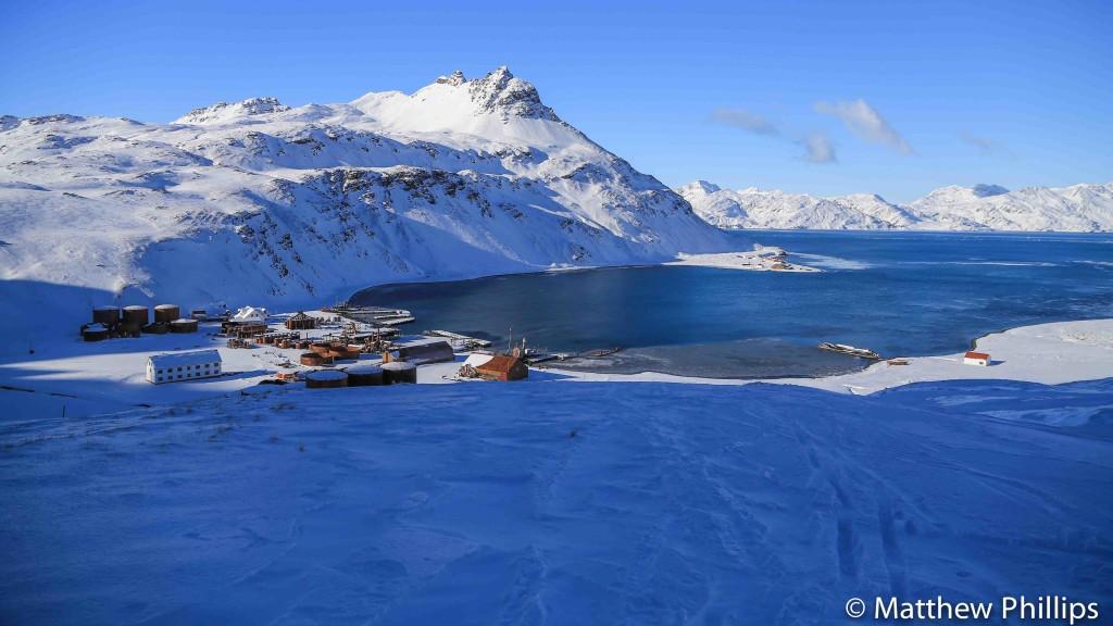 South georgia, Antarctica, skiing, King Edward Cove