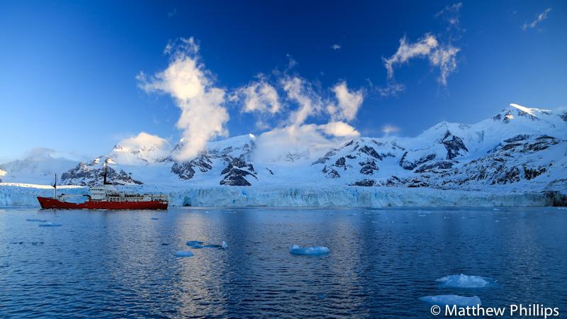 South Georgia, Antarctica, Nordenskjold Glacier