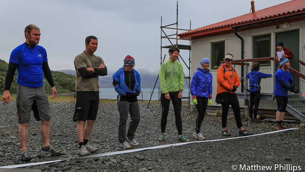 South Georgia, Antarctica, Half Marathon