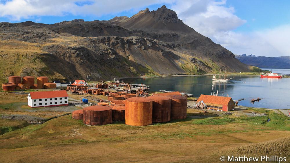 South Georgia, Antarctica, Grytviken, Bark Europa