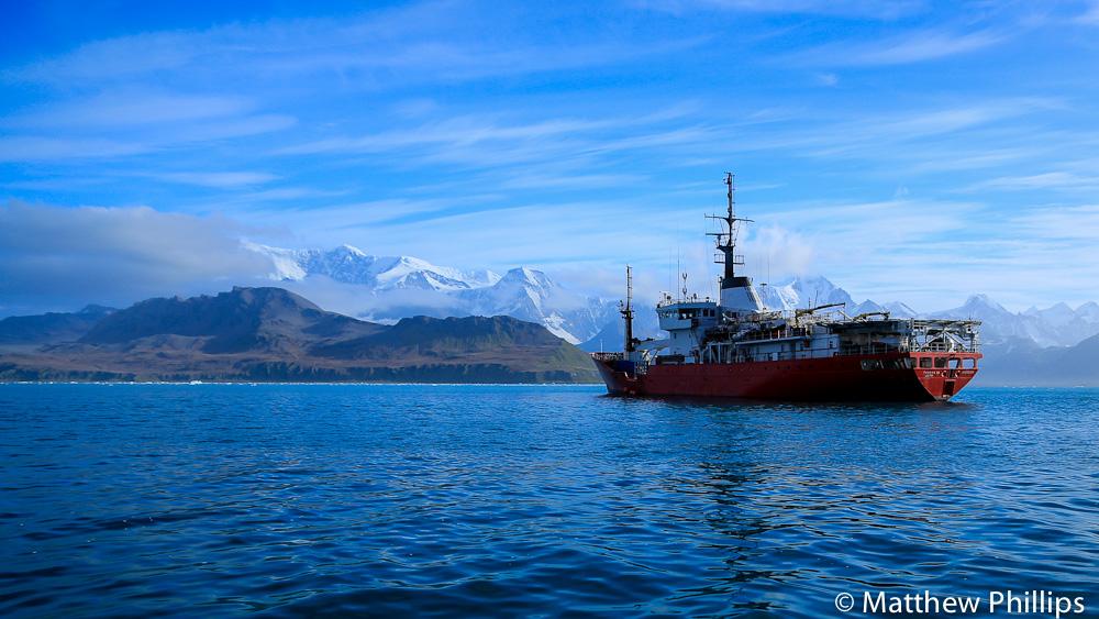 South Georgia, Antarctica, MV Pharos