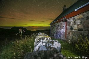 Bothy at the north end of the Isle of Raasay