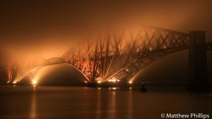 The 125 year old Forth rail bridge