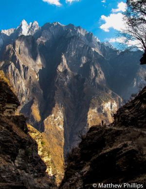 Tiger Leaping Gorge, Yunnan Province.